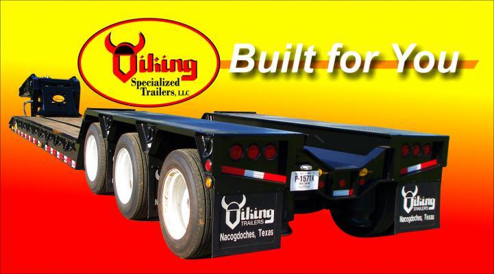 55 Ton Hydraulic Detachable Gooseneck - Viking Specialized ... Viking Trailer Wiring Harness on trailer brakes, trailer plugs, trailer generator, trailer fuses, trailer hitch harness, trailer mounting brackets,